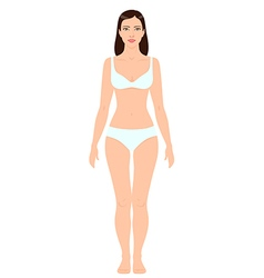 Woman body vector