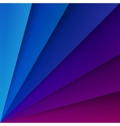 Blue and purple paper layers with realistic vector
