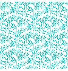floral seamless pattern nature background can be vector image vector image