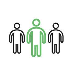leadership skills vector image