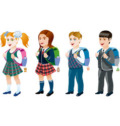 Set of student vector