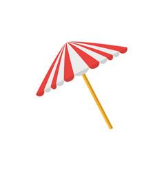 Umbrella picnic equipment protection vector