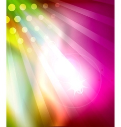 Colorful shiny abstract template vector