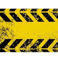worn hazard stripes vector image