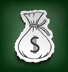 Dollar sign stock vector