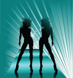 queen dance vector image vector image