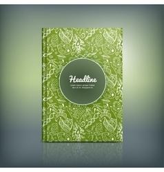 Scientific Brochure 03 A vector image