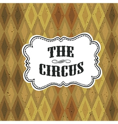 Circus diamon pattern vector