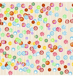 Seamless candy vector