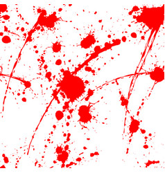 blood splatter seamless tile vector image