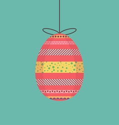 Egg decorative vector