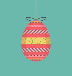 Egg decorative vector