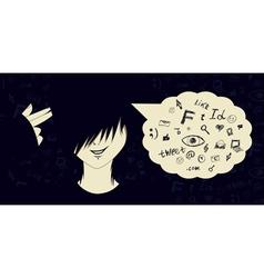 Social media suicide2 vector