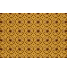 vintage abstract background of brown tracery vector image vector image