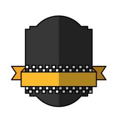 taxi service emblem icon vector image