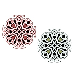 celtic ornaments vector image