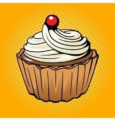 Cake pop art style vector image
