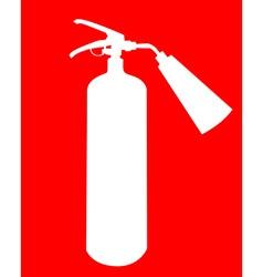 fire extinguisher vector image vector image