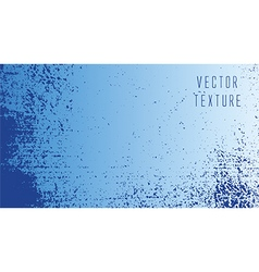 grunge blue texture vector image vector image