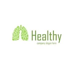 Healthy company logo vector