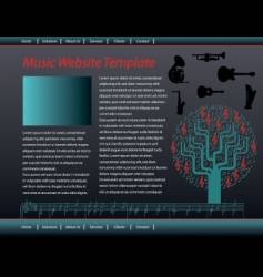 Music web vector
