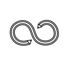 Line pencil with curves and double point vector