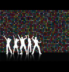 Dancing people vector