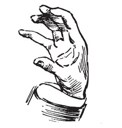 Board of trade sign language for sell vintage vector