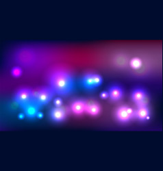 bokeh light abstract background vector image