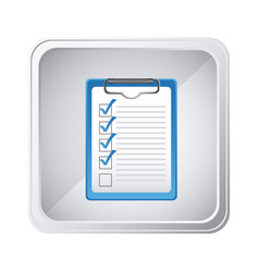 Emblem technical services check in the clipboard vector