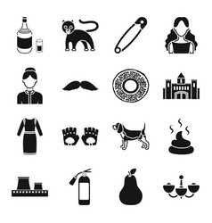 Interior alcohol atelier and other web icon in vector