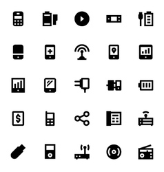Mobile and Smart Devices-5 vector image
