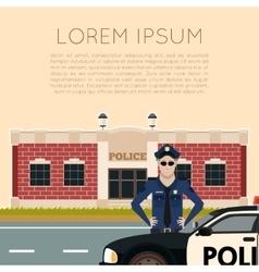 Police department banner5 vector
