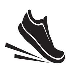 Running shoes2 resize vector image vector image