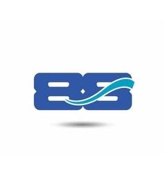 Template logo 88nd anniversary vector