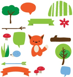 Forest fellows vector