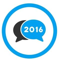 2016 Webinar Icon vector image