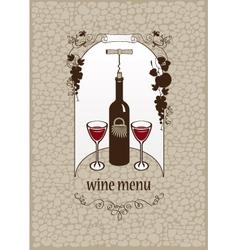 wine stone vector image vector image