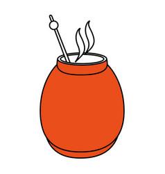 Mate drink vector