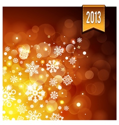 Gold luminous background vector