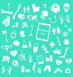 Set medical icon vector