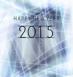 Happy new year message vector