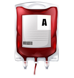 Blood bag a vector