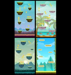 Game background vertical tileable wallpaper for vector