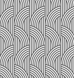 Geometric striped seamless pattern vector