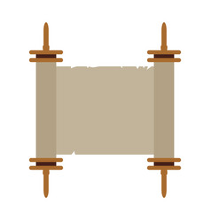 isolated traditional torah vector image