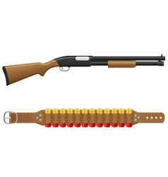 Shotgun 02 vector