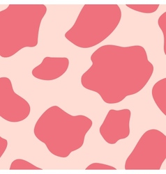 Cow seamless pattern background vector