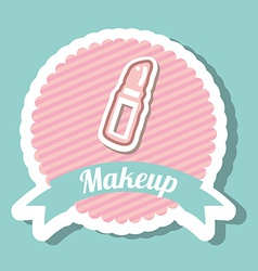 Makeup design vector