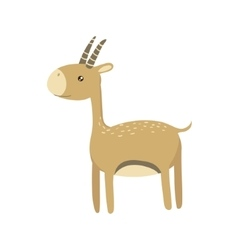 Gazelle Realistic Childish vector image vector image